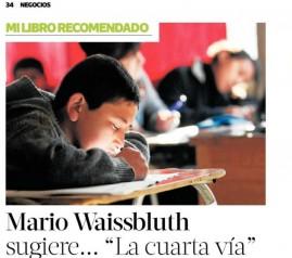 comentario Mario Waissbluth - Mi libro recomendado La Tercera
