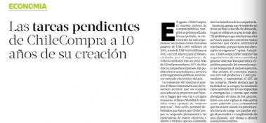 articulo ChileCompra La Tercera