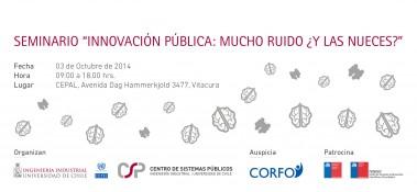 banner seminario Innovacion Publica