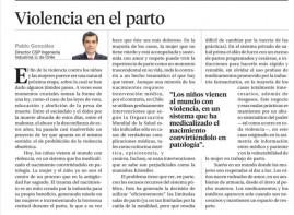 columna Pablo Gonzalez La Segunda