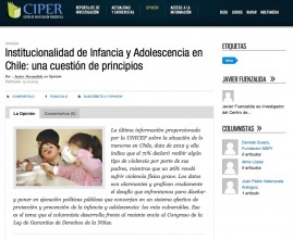 CIPER columna Javier Fuenzalida