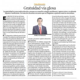columna Pablo Gonzalez - Pulso