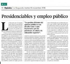 editorial La Segunda