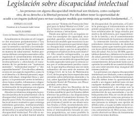 columna discapacidad intelectual